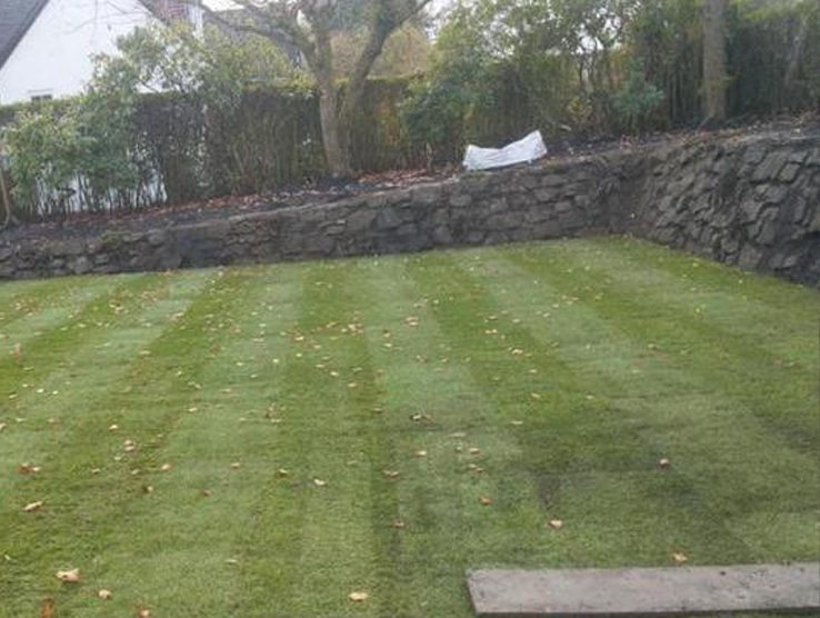 New lawn completed